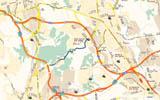 Tram de calibratge - Mapa General