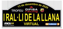 I Ral·li de la Llana Virtual Trofeu Difisa Racing 2020