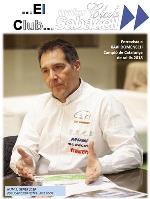 """Nº 1 de la Revista trimestral en PDF, """"El Club"""". Feu clic per veure-la (5,7 MB)"""
