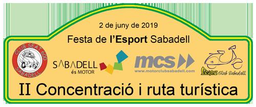 """II Ruta Turística - """"66ª Festa de l'Esport Sabadellenc"""" 2019"""